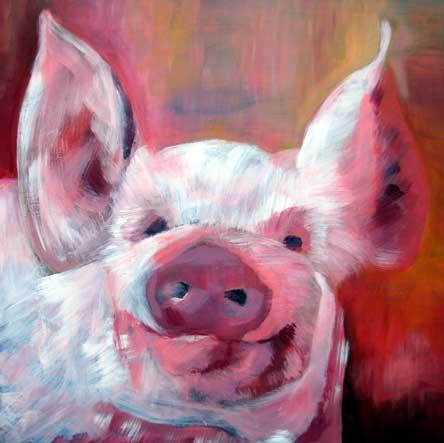 Happy pig I